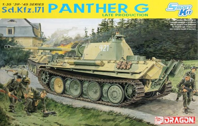 DRAGON 6268 1 35 Sd Kfz 171 Panther G Late Production