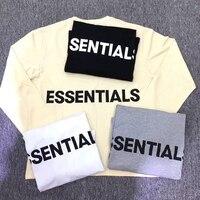 men and women essentials printed long sleeve T Shirt