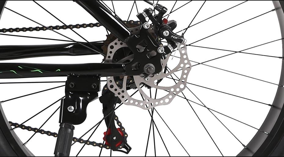 HTB1oVsLXAT2gK0jSZPcq6AKkpXar Love Freedom 7/21/24/27 Speed Mountain Bike 26 * 4.0 Fat Tire Bikes Shock Absorbers Bicycle Free Delivery Snow Bike