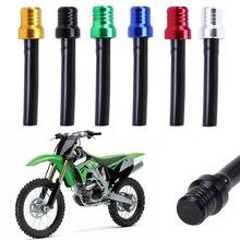 Nueva tapa de tanque de combustible de la motocicleta de la aleación de aluminio de la tapa de la motocicleta del ATV Pit Dirt Bike respiradero de la manguera del tubo del respiradero de Válvula de ventilación