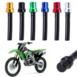 New Aluminum Alloy Motorcycle Gas Pit ATV PIT Dirt Bike Fuel Petrol Tank Cap Breather Pipe Hose Valve Vent Breather Tube TSLM1