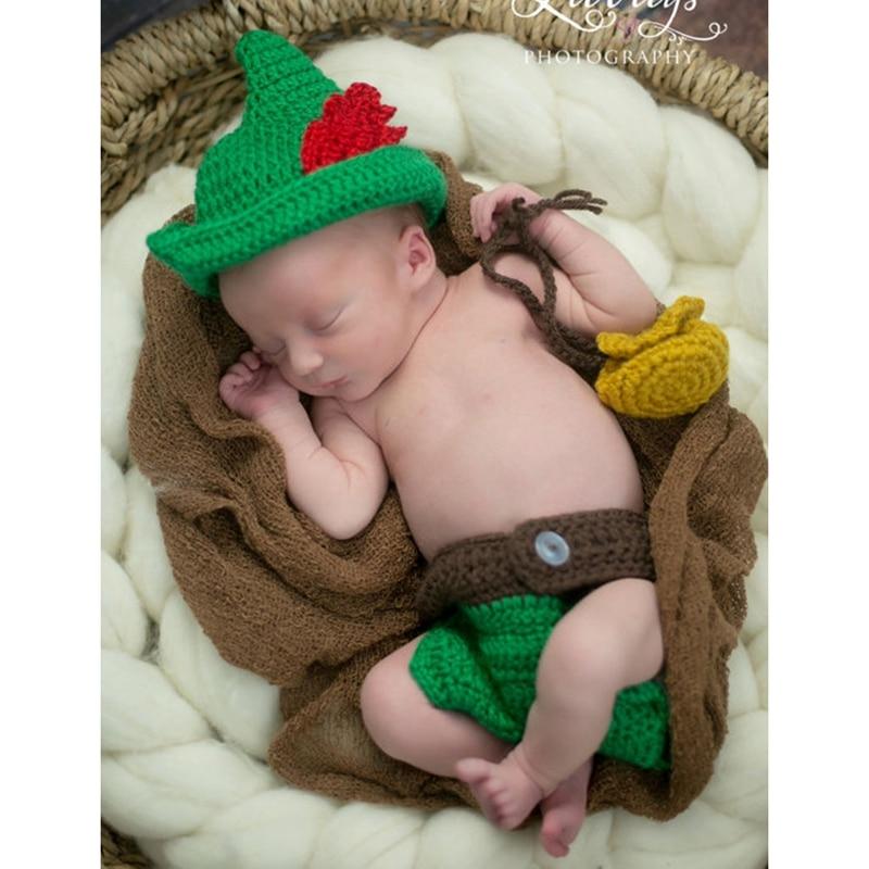 026e919e23d85 Cadeau de noël nouveau-né bébé elfe vert costume accessoires de  photographie fête maquillage costumes costume de cosplay peter pan