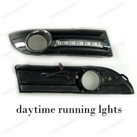 Auto Parts Car DRL Turn Signal Style 12V 6000k Daytime Running Lights Fog Lamp For V