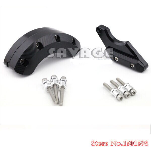 ФОТО Motorcycle Left Right Side Engine Case Guard Cover Protector Slider For YAMAHA XJ6 DIVERSION 2009-2013