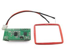 ! UART 125Khz EM4100 RFID Card Key ID Reader Module RDM6300 (RDM630) For Arduino