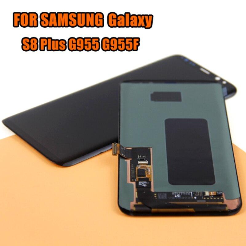 สำหรับ samsung Galaxy S8 + G9550 G955F จอแสดงผล LCD สำหรับ samsung SM G955FD G955N จอแสดงผล lcd โมดูล-ใน จอ LCD โทรศัพท์มือถือ จาก โทรศัพท์มือถือและการสื่อสารระยะไกล บน AliExpress - 11.11_สิบเอ็ด สิบเอ็ดวันคนโสด 1