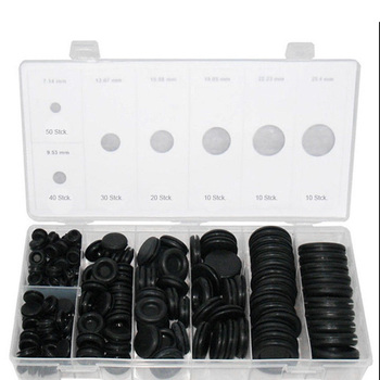 170 Pcs Extensive Rubber Stoppers Body Plugs Stoppers for automotive sector WWO66 фото