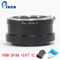 Pixco For L/R Nik Z Newest Lens Mount Adapter Ring for Leica R Lens to Suit for Nikon Z Mount Camera Z6 Z7