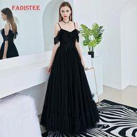 ac29c9237 FADISTEE Summer Party Dress Prom Dresses Long Dress Vestido De Festa  Elegant V Neck Little Black. FADISTEE Vestido de fiesta verano vestidos  largo ...