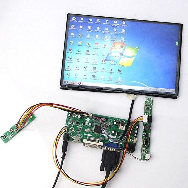 10.1 inch B101UAN01 B101UAN02 1920*1200 LCD Display + LCD Controller Driver Board HDMI VGA 2AV DVI AUDIO 10 4inch a104sn03 800x600 4 3 tft lcd display vga av driver controller board card