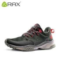 RAX outdoor winter hiking shoes men Genuine leather skid waterproof hiking shoes Climbing Shoe Size 39 44 3 colors #B2316