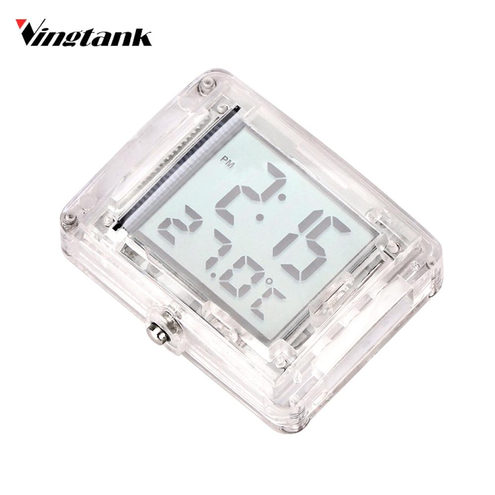 Vingtank мотоциклетные vehincal часы и термометр Функция с Подсветка световой Функция Водонепроницаемый для Yamaha для honda