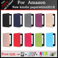 Magnetic Smart Cover Case For Amazon New Kindle Paperwhite 2018 Released funda 4 10th Generation
