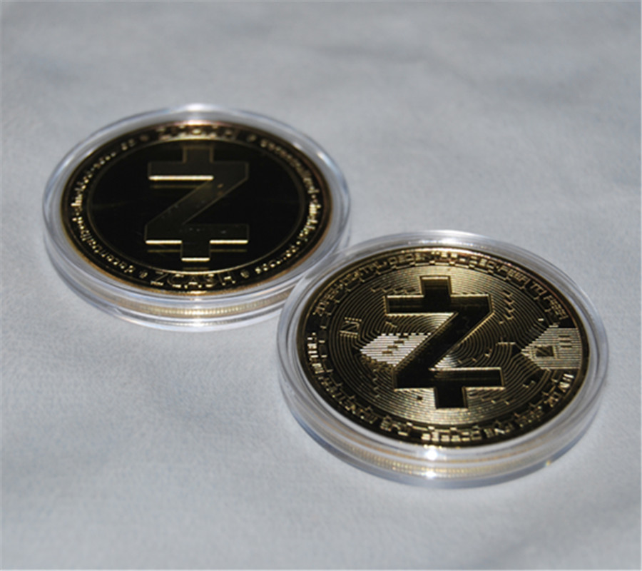 Gold Bitcoin Commemorative Round Collectors Coin Bit Coin is Gold Plated USA Lot