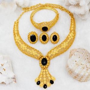 Image 1 - Bijoux en or Dubai pour femmes 24 pièces
