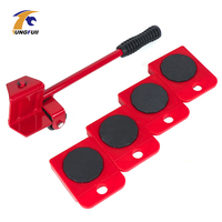Moving Tool Durable Furniture Moving System With Lifter Tool Home Utilities With Lifter 4 Wheels