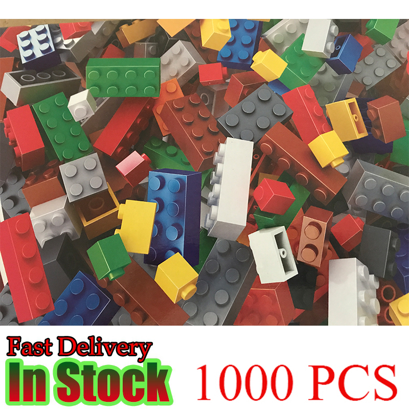 1000pcs Bricks Designer Creative Classic DIY Building Blocks Sets model City Educational Toys For Children 9 Colors xipoo 6 in 1 blue military ship diy model building blocks bricks sets educational gift toys for children boy friends