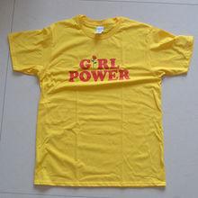 """""""Girl Power"""" girlie shirt / 4 Colors"""