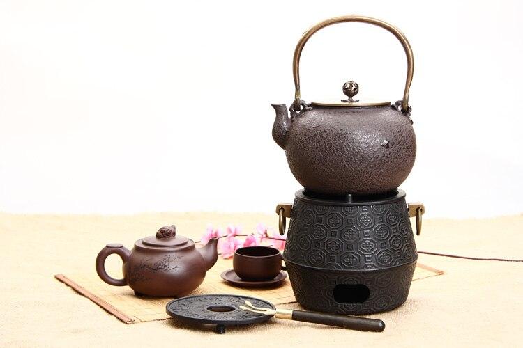 Besplatna dostava Držač čajnika od lijevanog željeza u stilu - Kuhinja, blagovaonica i bar - Foto 3