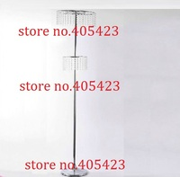 10pcs Lot 2 Tiers H 170cm 67 Ferris Wheel Crystal Road Lead Flower Stand Include Bead