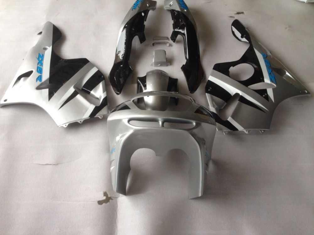 פיי-עבור Kawasaki NINJA ZX6R 94 95 96 97 ZX-6R ZX 6R 1994 1995 1996 1997 ירוק לבן כחול aftermarket אופנועים Fairing