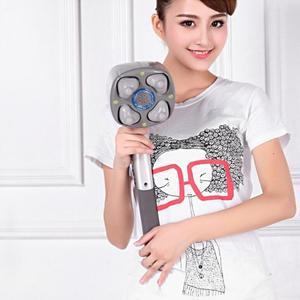 Image 5 - Электрический массажер с 4 головками для шейного отдела позвоночника, многофункциональный Вибрационный массажный молоток для всего тела с шейной талией