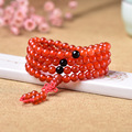 wholesale supply of men and women multi ring bracelet with red agate with Chinese knot 108 beads crystal jewelry direct