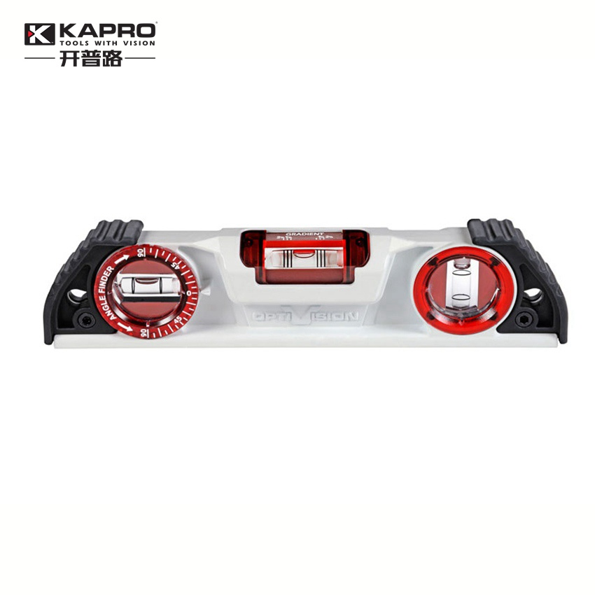 """KAPRO  25cm 10"""" Magnetic Cast Aluminum Level High Precision Bubble Level Inclinometer-in Level Measuring Instruments from Tools    1"""