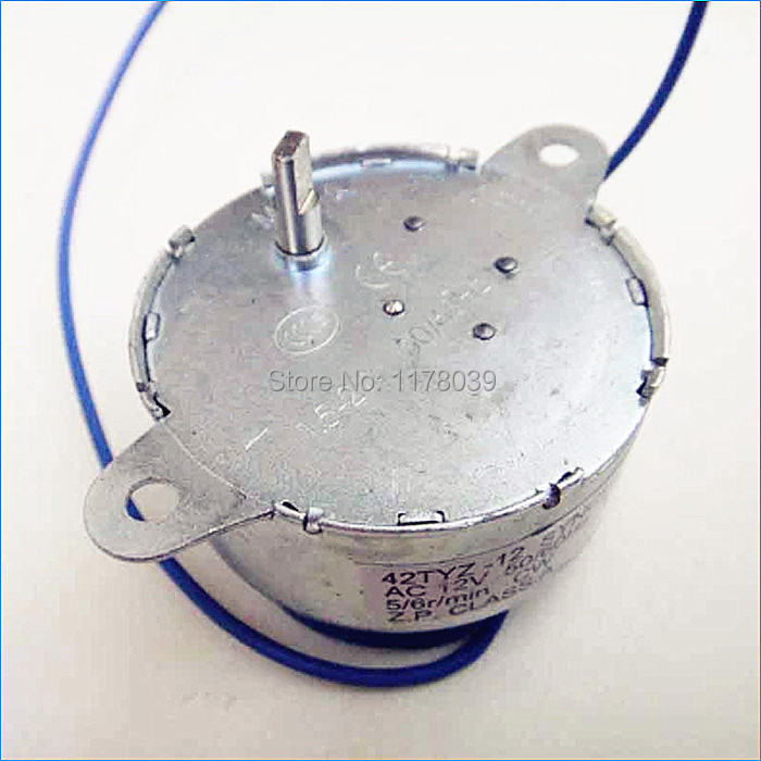 Synchronous low speed high torque electric motor 4pcs for Low rpm ac electric motor