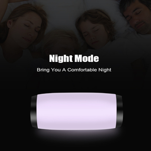 Image 4 - M & J 다채로운 LED 조명 블루투스 스피커 HIFI 스테레오 무선 휴대용 마이크 핸즈프리 지원 TF FM USB 플래시 Subwoffer