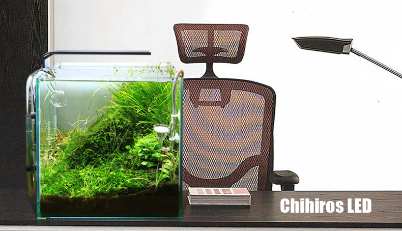 water plant grow led light chihiros c series ada style mini nano clip aquarium water plant fish. Black Bedroom Furniture Sets. Home Design Ideas