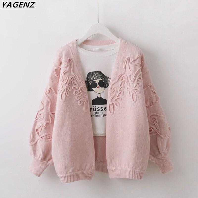 Pull court tricot Cardigan veste 2017 mode coréenne printemps automne confortable décontracté hauts YAGENZ nouveau printemps automne série A69