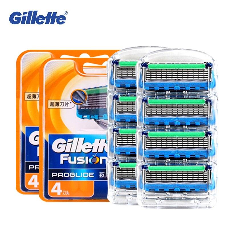 Originale Gillette Fusion Proglide Potenza Rasoio Elettrico Lama Per Gli Uomini Viso Rasatura di Rimozione Dei Capelli Barba Rasoio Rasoi Lame 8 pz