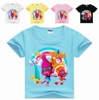 2017 T-shirt kids clothes girls tops and tees children clothing cartoon boys t shirt girls clothes roupas infantis menina