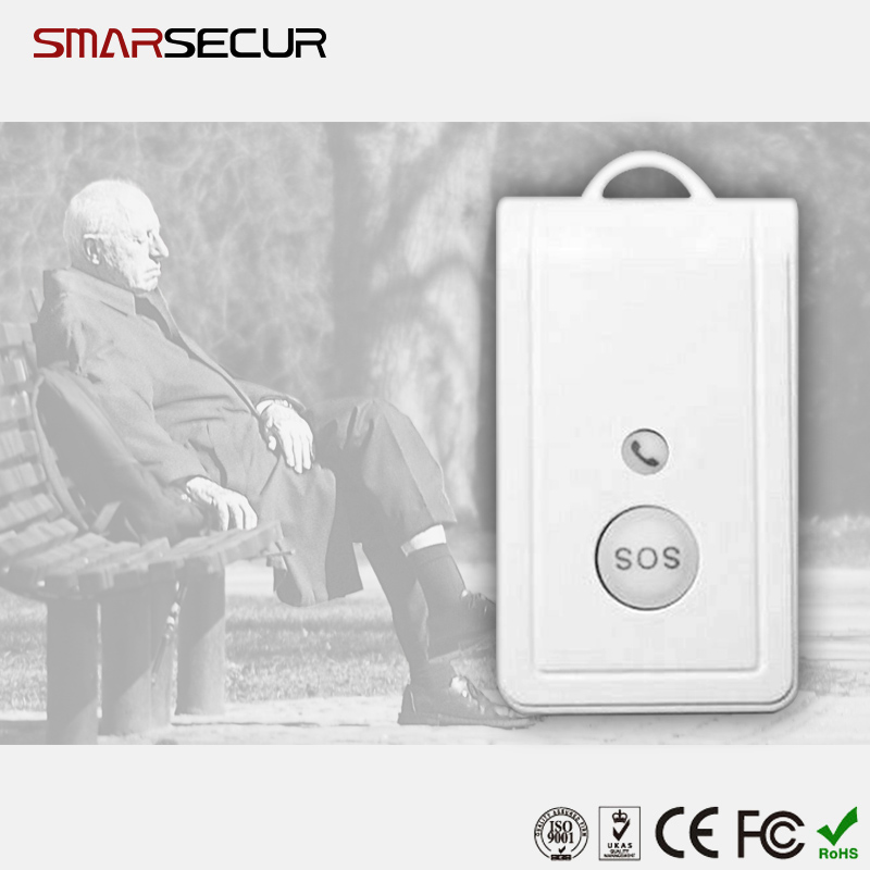 Waterproof GSM SOS Button Emergenc  Two-way Talk  Alarm System GSM Elderly Guard Alarm