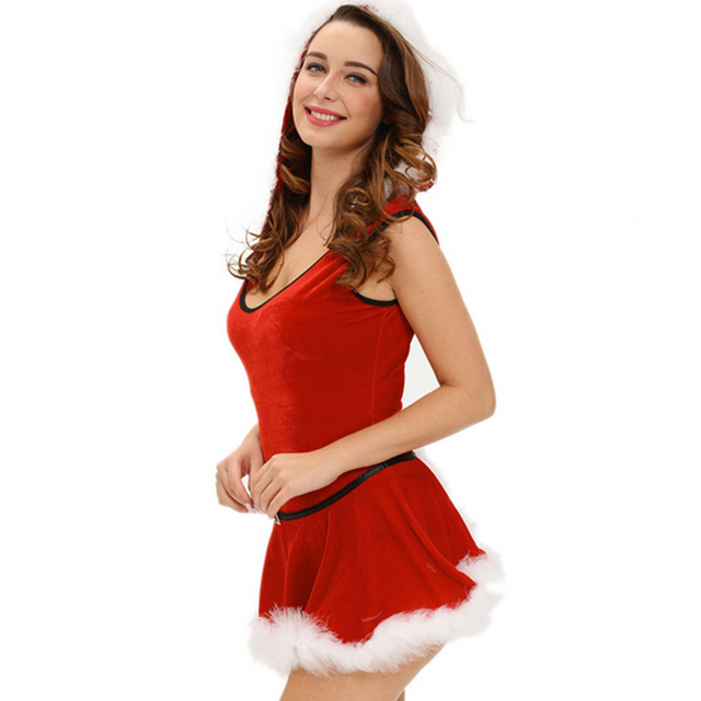 good quality big size plus size xxxl sexy lingerie christmas party costumes dress cosplay sexy christmas