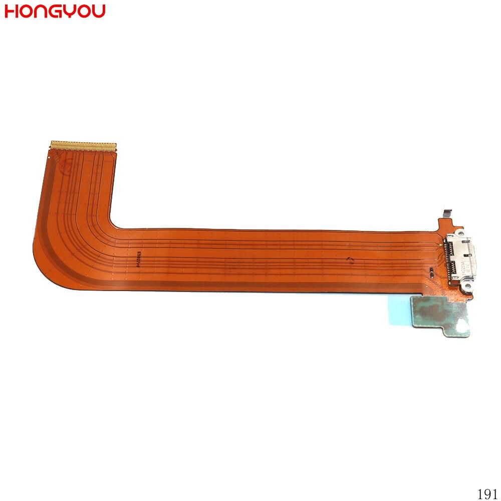 Usb porto de carregamento conector de carga doca tomada jack plug cabo flexível para samsung galaxy note pro 12.2 p900 p901 p905