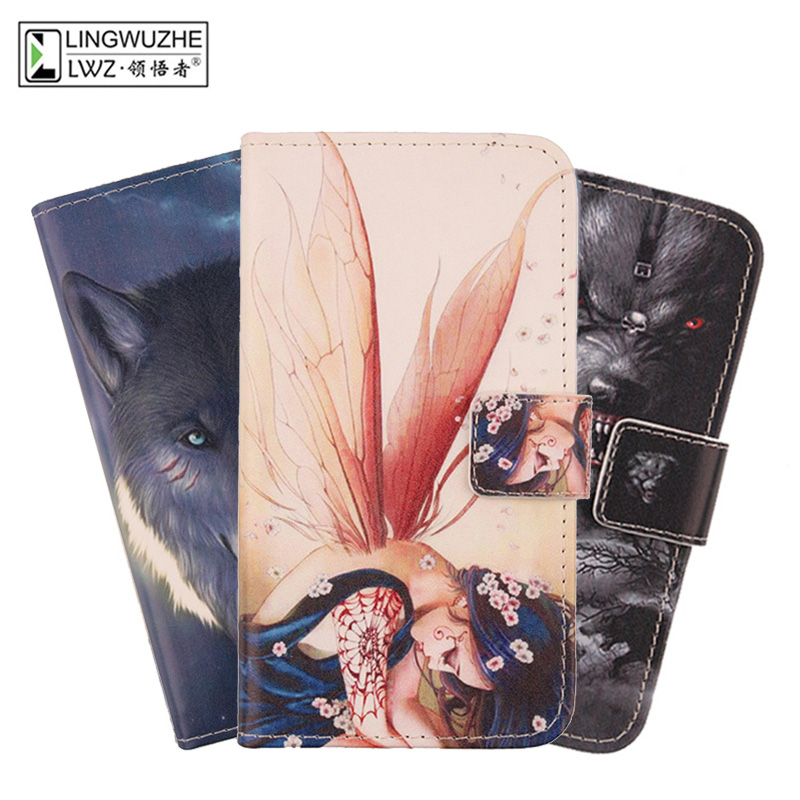 "Case For Qilive 5.5""Smartphone Q.4926 Book Style PU Leather Case Flip Magnetic Wallet Design Phone Bags Cover"