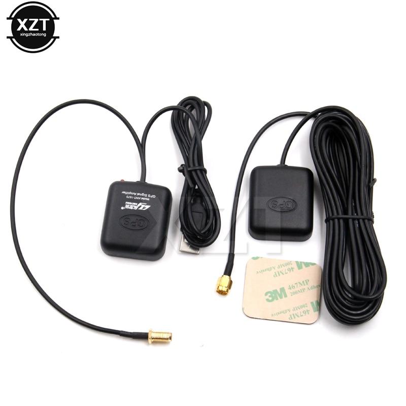 Antena gps sistema de navegação amplificador de sinal do carro repetidor receptor transmissor veículo gps amplificador de sinal impulsionador