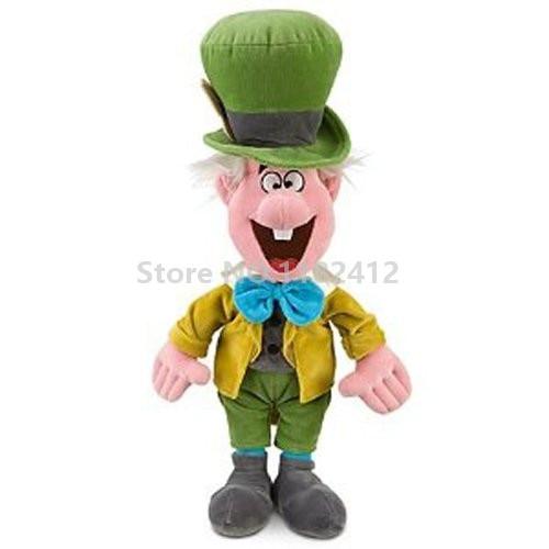 Mad Hatter Plush Doll 50cm 20 Girls Toys for Children Kids Christmas Gifts
