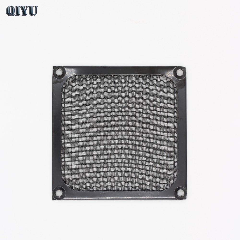 92mm Aluminum Computer Fan Cooling Dustproof Dust Filter Shield Case Aluminum Grill Guard Ventilation And Dust