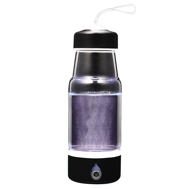 Portable Hydrogen Generator Ionizer For Pure H2 Rich Hydrogen Water Bottle Hydrogen Rich Drink Hydrogen Water USB Charging 500ml portable hydrogen rich water maker ionizer generator 2016