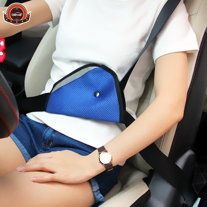 New design Car Safety Belts Child Protection neck Face Adjustment holder above 4 years old children to use 5 color freeshipping