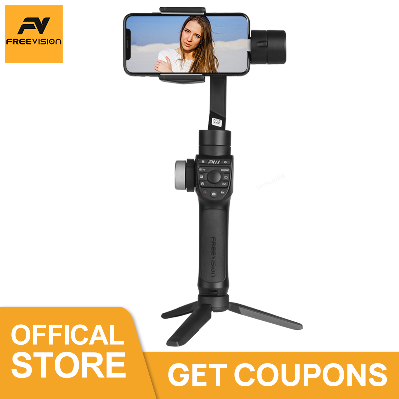 Freevision Vilta M Pro 3 Axis Gimbal Handheld Smartphone Stabilizer for IPhone X XS 8 7