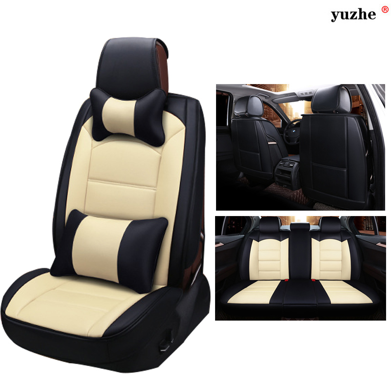 Yuzhe Leather Universal car seat covers For MG ZR ZT TF GT MG5 MG6 MG7 mg3 mgtf 3SW car accessories styling seat cushion