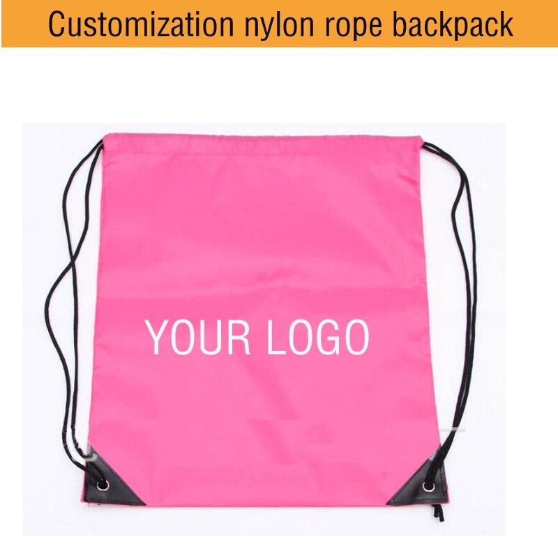Von Logo Reine Draw Stücke Moq Strahl Tasche Angepasst String Kann Farbe Nylon Polyester Schultern 200 Cwq8P8f