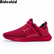 Aidenkid 2019 mens fashion mesh casual shoes trend breathable sports running