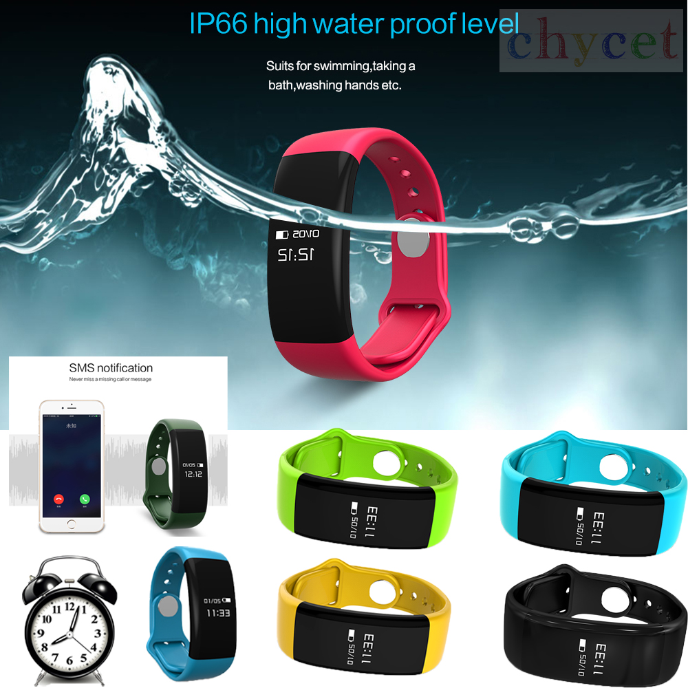 H30 Smart Bracelet Waterproof Bluetooth Wristbands Heart Rate Monitor Fitness Sleep Sports Tracker Pedometer Wristband D21