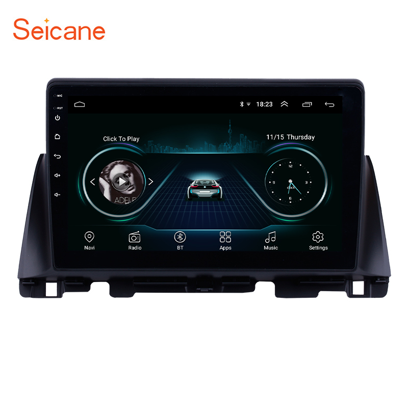 Seicane 10.1 inch Android 8.1 for Kia K5 2016 Car Radio Bluetooth GPS Navigation Unit Player support Backup Camera TPMS DVR OBD image