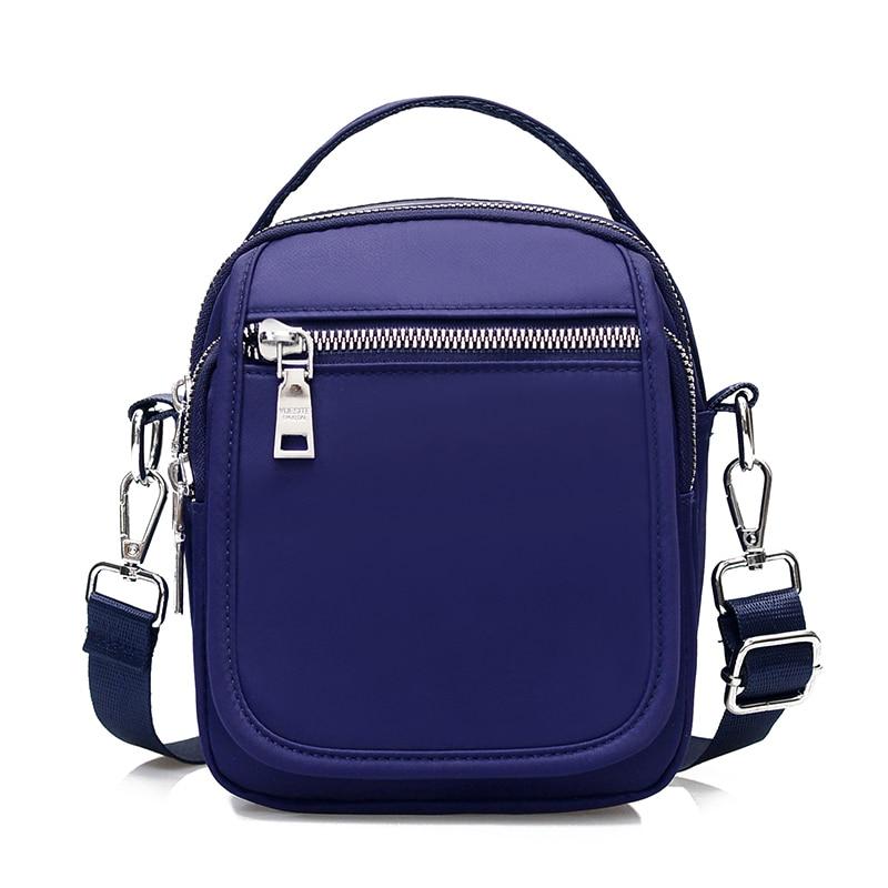 Luxury Women Messenger Bag Nylon Shoulder Bag Ladies Bolsa Feminina Waterproof Travel Tote Women's Top-handle Crossbody Bag